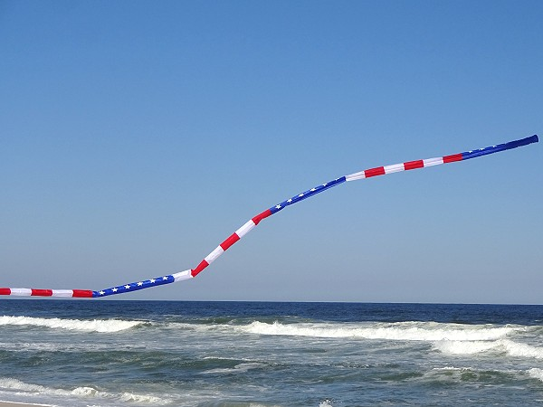 20ft Patriotic Tube Tail