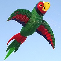 Mega Great Green Macaw